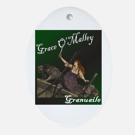 Grace O'Malley (Granuaille) Keepsake (Oval)