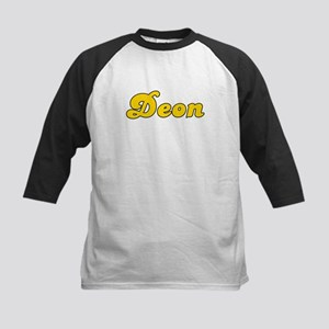 Retro Deon (Gold) Kids Baseball Jersey