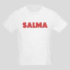 Retro Salma (Red) Kids Light T-Shirt
