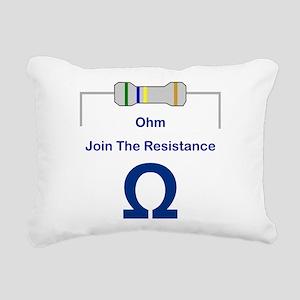 OHM56 Rectangular Canvas Pillow