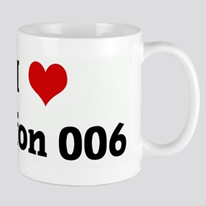I Love buffon 006 Mug