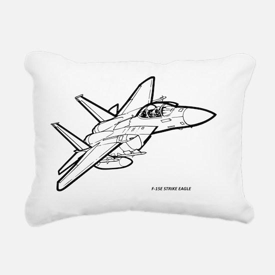 Unique Strike Rectangular Canvas Pillow
