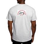 Light T-Shirt Logo on Back