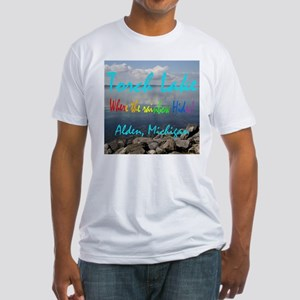 Torch Lake Fitted T-Shirt