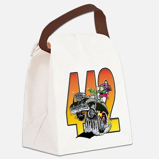 Unique Green monster Canvas Lunch Bag