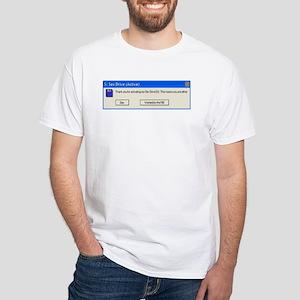 (S:) Sex Drive White T-Shirt