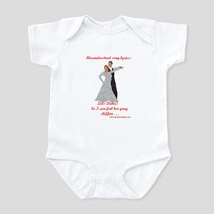 Let's Dance Infant Bodysuit
