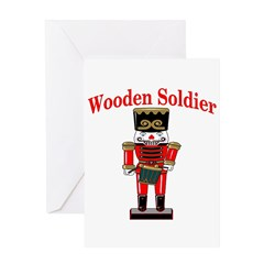 Wooden Soldier Greeting Card