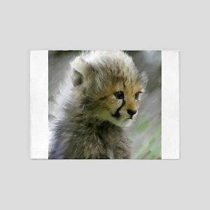 Cheetah 014 5'x7'Area Rug