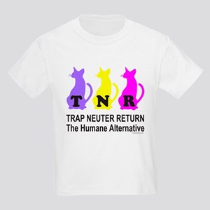 TRAP NEUTER RETURN Kids Light T-Shirt