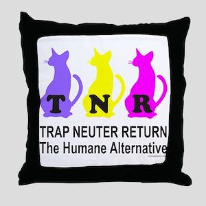 TRAP NEUTER RETURN Throw Pillow
