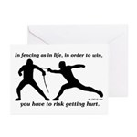 Get Hurt Greeting Cards (Pk of 20)