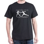 Get Hurt Black T-Shirt