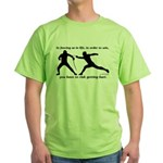 Get Hurt Green T-Shirt