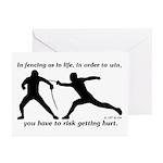 Get Hurt Greeting Cards (Pk of 10)