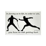 Get Hurt Rectangle Magnet (10 pack)