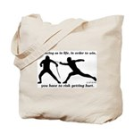 Get Hurt Tote Bag