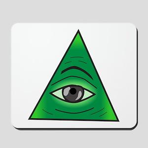 Illuminati Society Mousepad