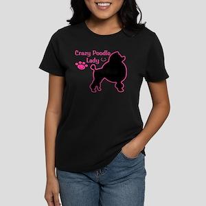 Crazy Poodle Lady T-Shirt
