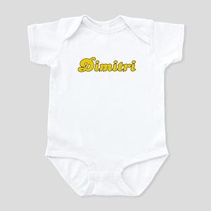 Retro Dimitri (Gold) Infant Bodysuit