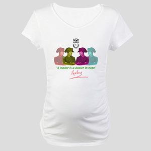 Napoleon quote Maternity T-Shirt
