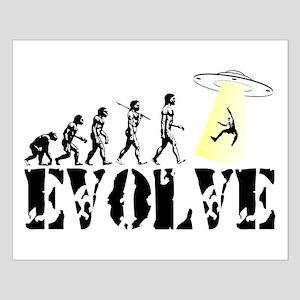 Alien Abduction UFO Small Poster