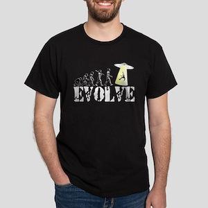 Alien Abduction UFO Dark T-Shirt