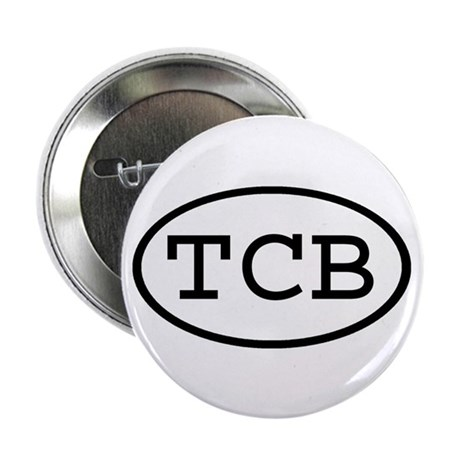 "TCB Oval 2.25"" Button (10 pack)"