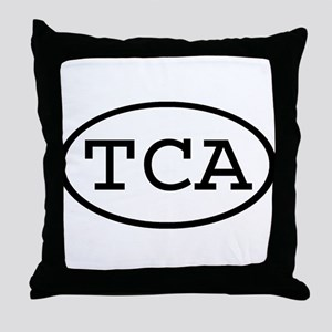 TCA Oval Throw Pillow