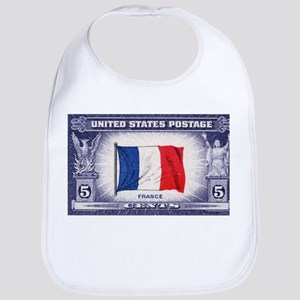 Flag of France Bib