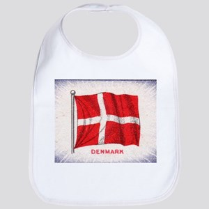 Flag of Denmark Bib