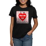 Everlasting Love Heart Women's Dark T-Shirt