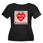 Everlasting Love Heart Women's Plus Size Scoop Nec