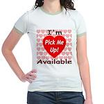 Everlasting Love Heart Jr. Ringer T-Shirt