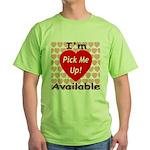Everlasting Love Heart Green T-Shirt
