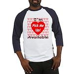 Everlasting Love Heart Baseball Jersey