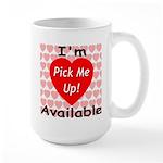 Everlasting Love Heart Large Mug