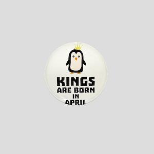 kings born in APRIL Cx14z Mini Button