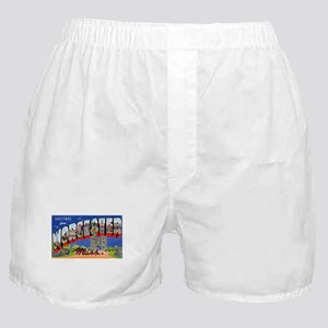 Worcester Massachusetts Greetings Boxer Shorts