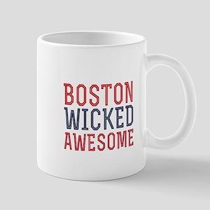 Boston Wicked Awesome Mugs