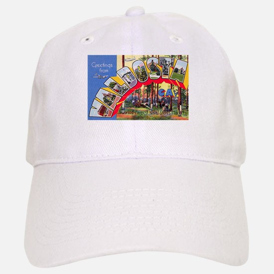 Valdosta Georgia Greetings Baseball Baseball Cap