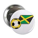 Jamaica Football Flag Button