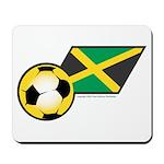 Jamaica Football Flag Mousepad