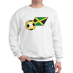 Jamaica Football Flag Sweatshirt