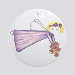 Angel Ornament (Round)