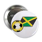 Jamaica Football Flag 2.25