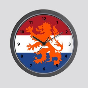 Holland Lion Wall Clock