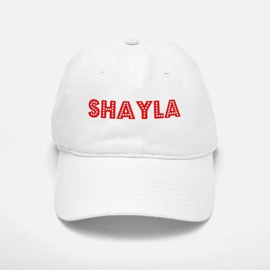 Retro Shayla (Red) Baseball Baseball Cap