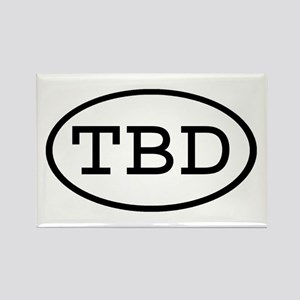 TBD Oval Rectangle Magnet