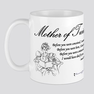 Mom of Twins - Before Mug